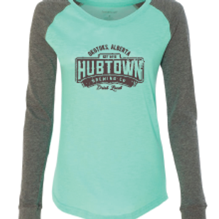 Hub Town Swag - ladies long sleeve