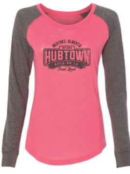 Hub Town Swag - ladies long sleeve
