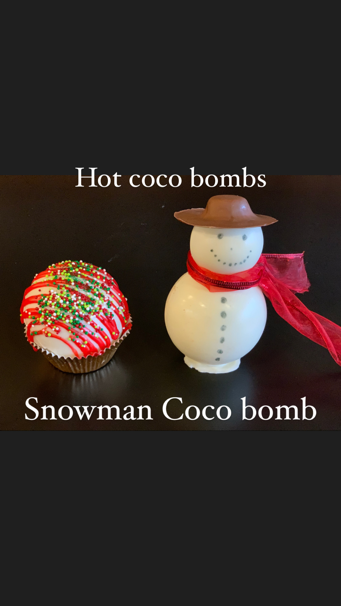 Hot coco bombs