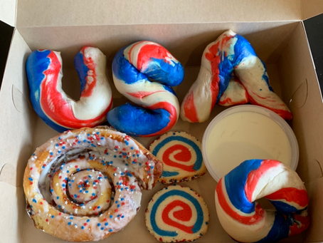 Your July 4th Celebration Needs A Lot of Bagels, Cookies, and More…in Red White and Blue