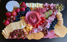 Charcuterie-Red White Blue