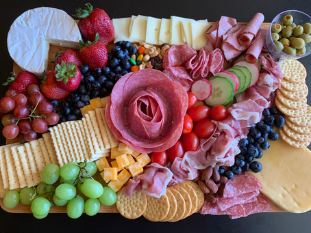 The Best of Charcuterie board from Bobby's Bagel Café