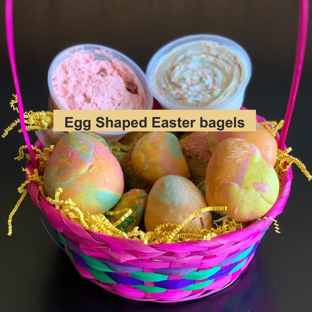 Egg Shaped Bagels(Hand Rolled)
