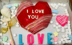 Breakable chocolate Heart