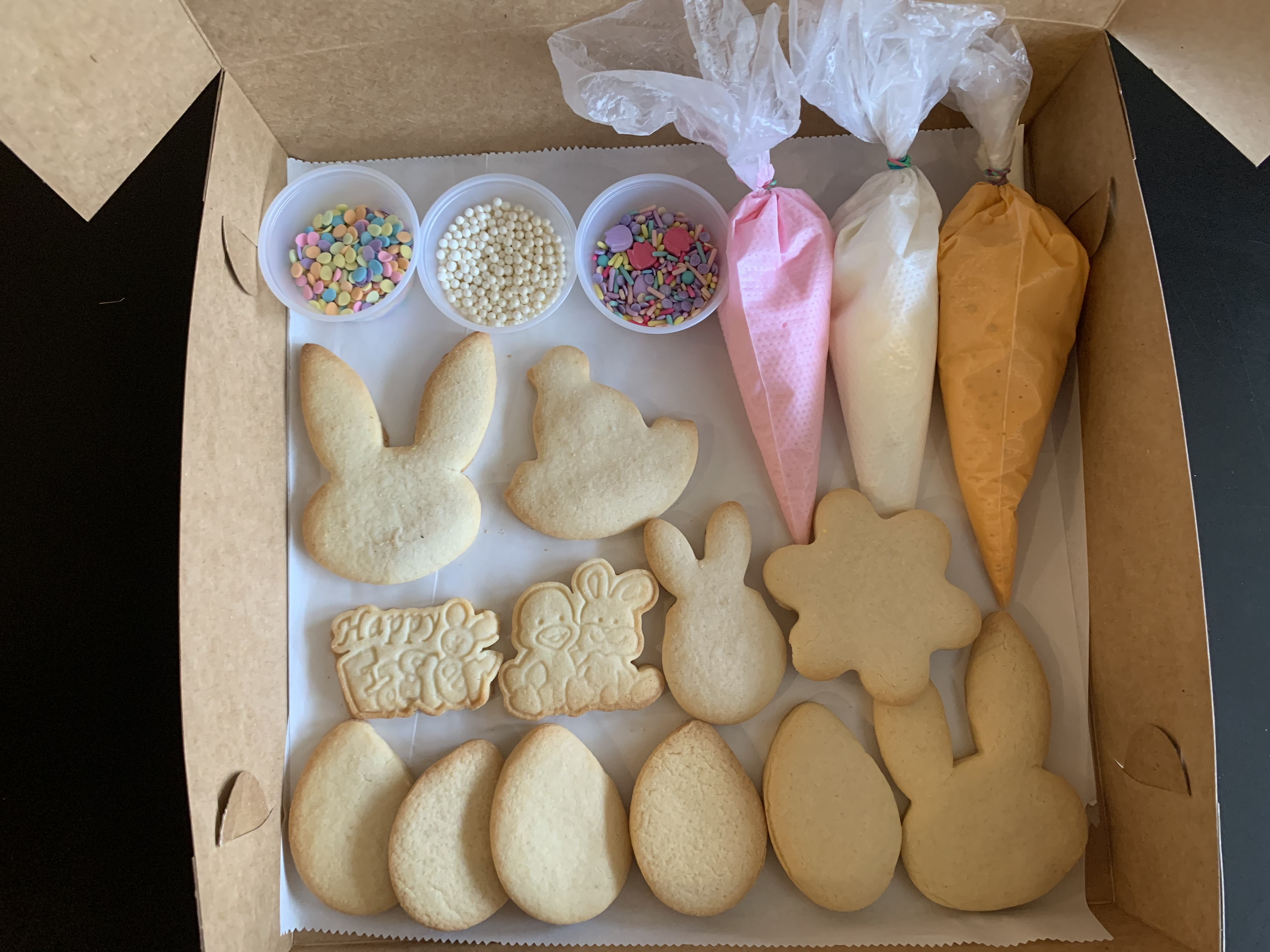 DIY Easter cookie