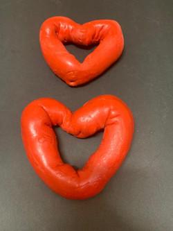 Heart Shaped Bagel