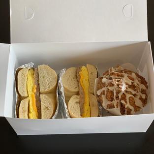 Sandwich and Muffin box