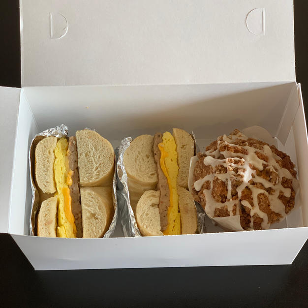 Sandwich and Muffin box