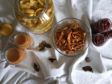 #reducefoodwaste / von der schale bis zum kern – äpfel ganzheitlich verwerten