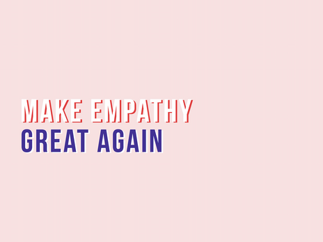 gedanken / make empathy great again