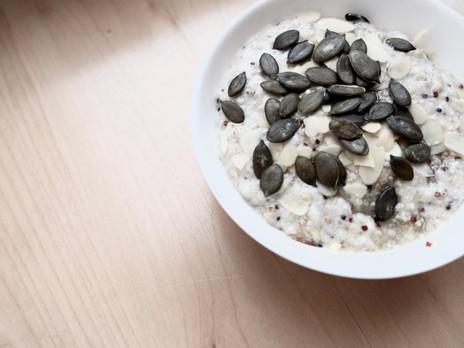 kulinarisches / quinoa-kokos-porridge