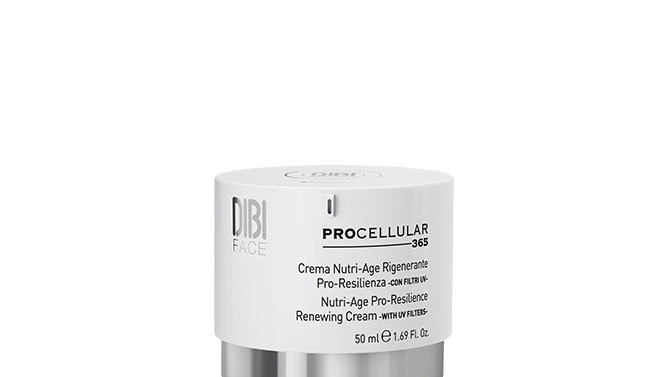Nutri-age regenerating pro-resilience* cream with uv filters