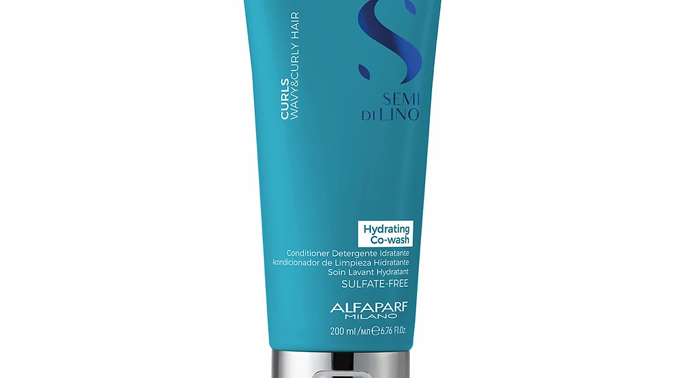 ALFAPARF Milano Semi Di Lino Curls Hydrating Co-Wash
