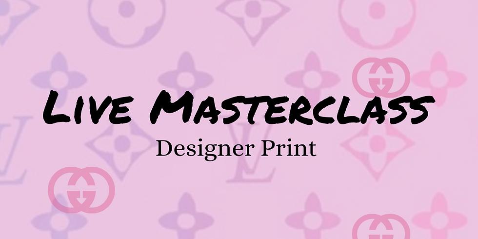 Designer Print Nail Art Masterclass