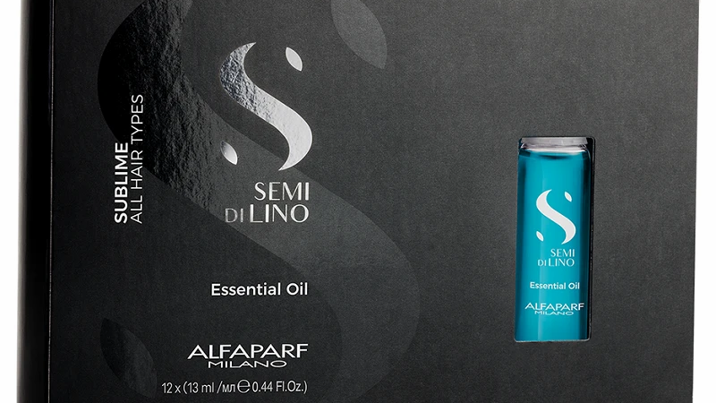 Alfaparf Semi Di Lino Sublime Illuminating Essential Oils - 12 x 13ml