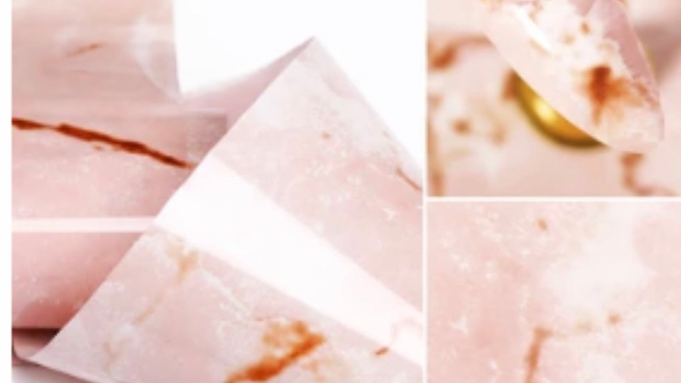 hint of blush marble series transfer foil