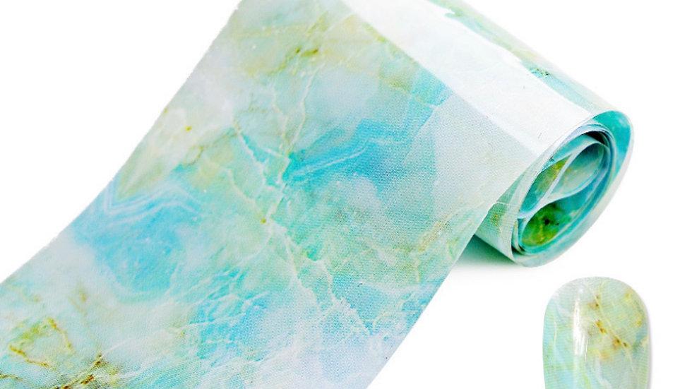 Mint Marble Foil