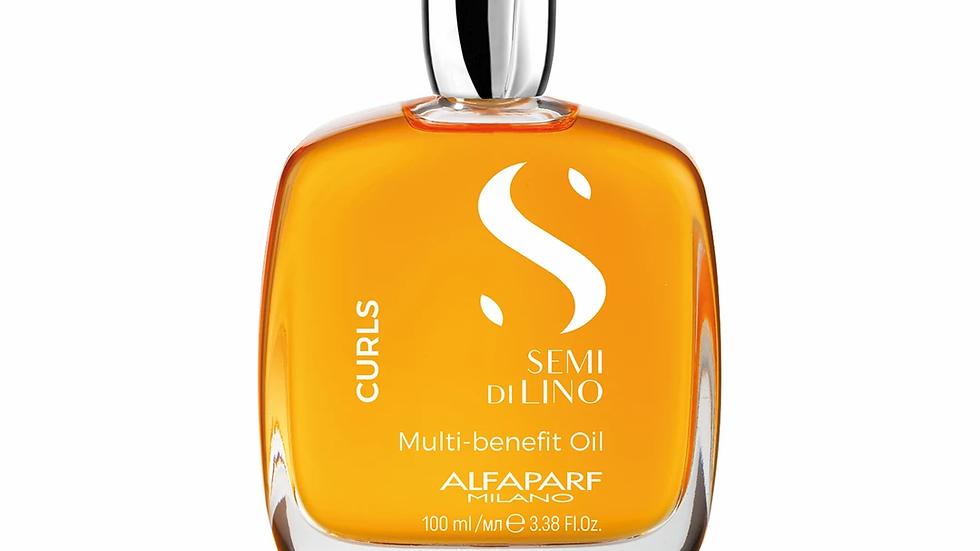 ALFAPARF Milano Semi Di Lino Curls Multi-Benefit Oil