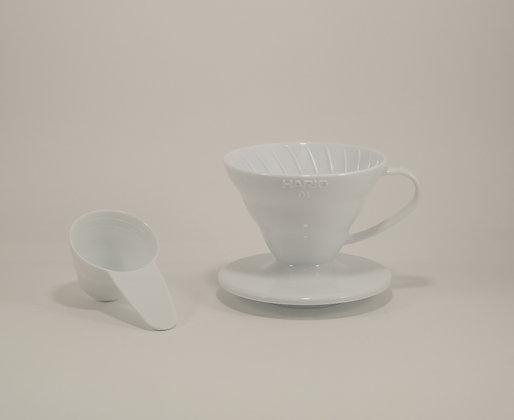 V60-01 Suporte para Filtro de Café Hario Acrílico