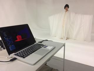 九州大学での実験が終了しました For new style performance