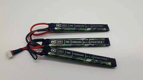Hadron Energy 1450mah 11.1v 15C Lithium Polymer Battery (Nun Chuck)