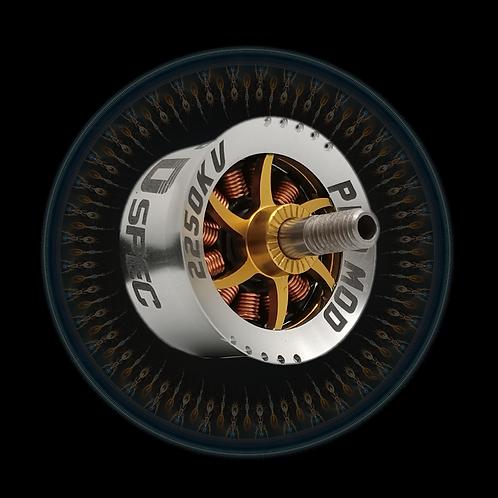 Method Drag Motor  2210 2250KV (blue +gold)