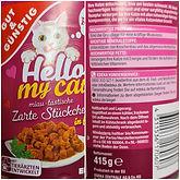 Gut & Günstig - Hello my Cat - Zarte Stückchen - Praxis Test