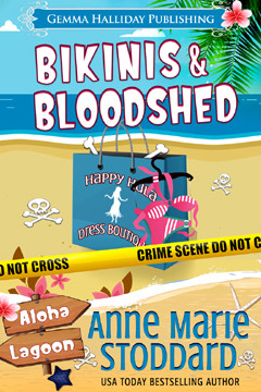 Book Blurb for Bikinis & Bloodshed
