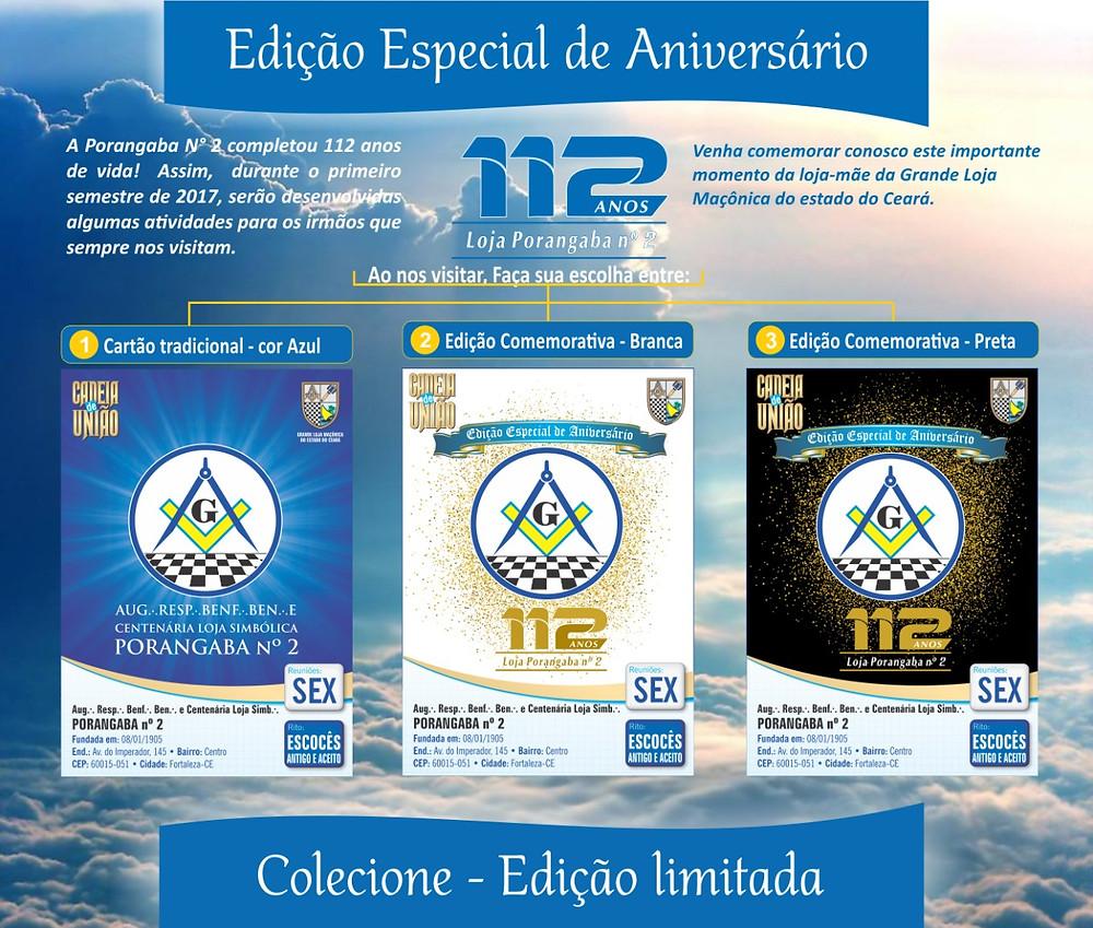 Cartões da Cadeia de União - ESPECIAL