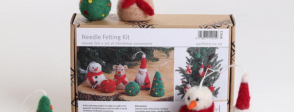Ashford Christmas Needle Felt Kit