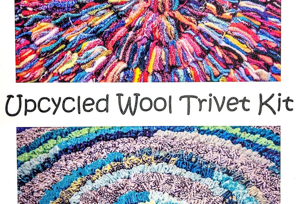 Upcycled Wool Trivet Kit