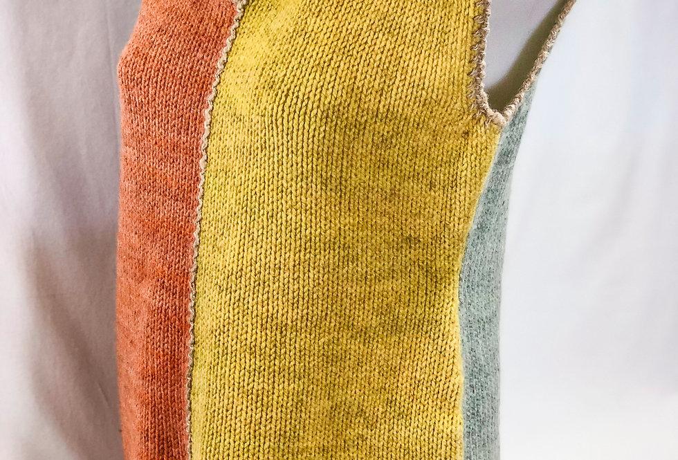 Billie Holiday, Seacolors Wool Vest, Size Medium