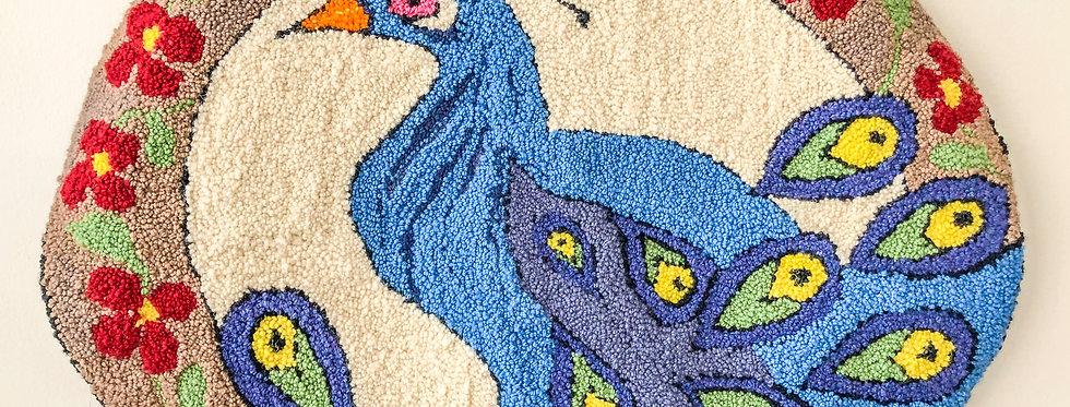 Needle Punch Wool Rug