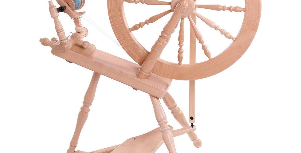 Ashford Elizabeth Spinning Wheel 2 Lacquered