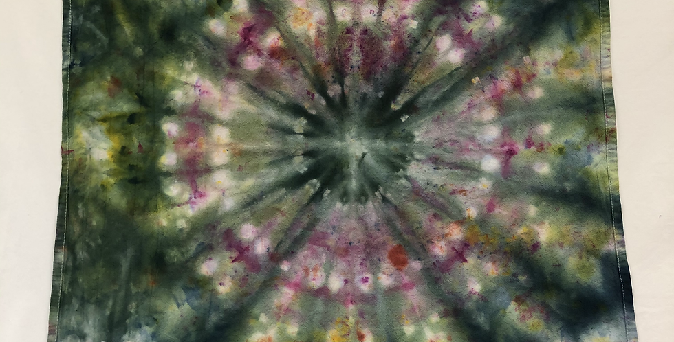 Ice Dyed Dish Towel #10
