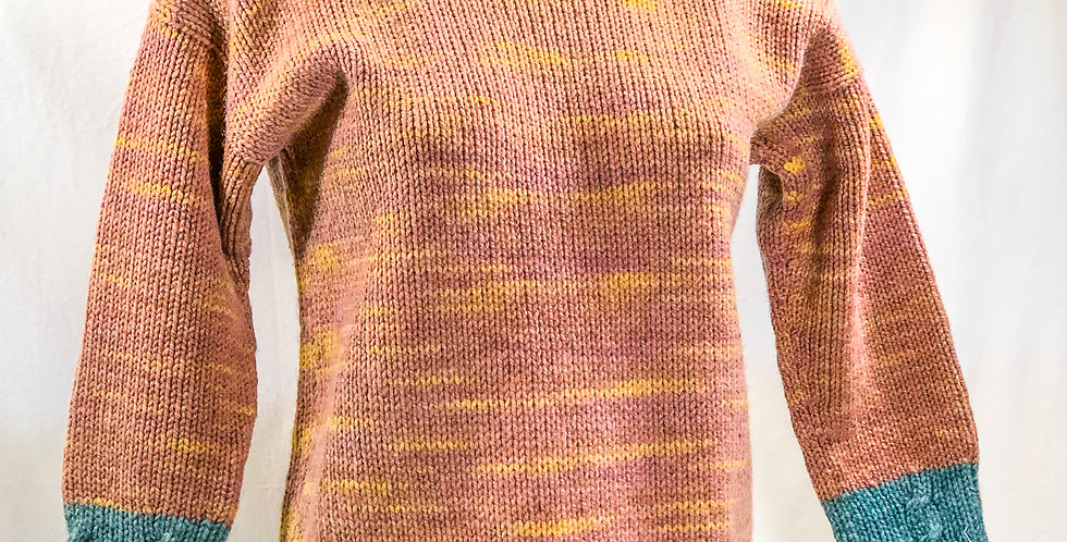 Seacolors Wool Sweater, Size Small