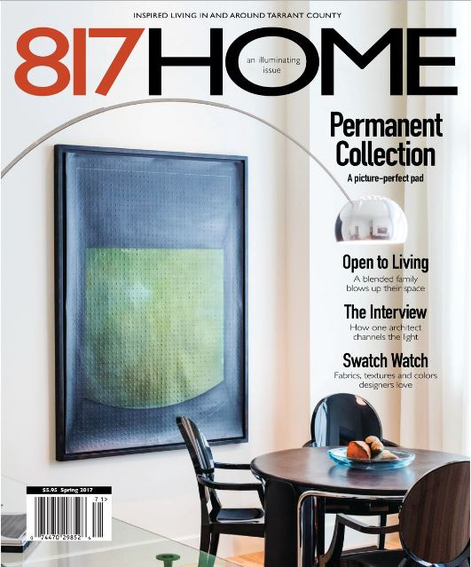MTK Design Group, DFW's premier interior decorating service, is published in Fort Worth's newest magazine.