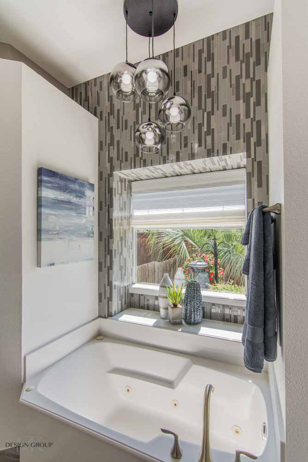 Contemporary Master Bath Design by MTK Design Group