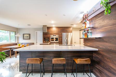 Fort Worth Mid-Century Kitchen Remodel, MTK Design Group