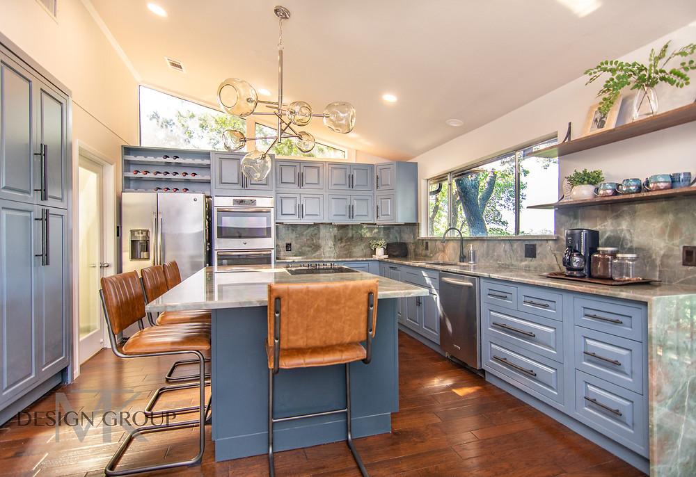Modern Organic Kitchen Design, MTK Design Group