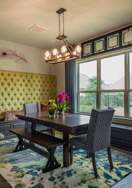 Colleyville Breakfast Nook Design, MTK Design Group