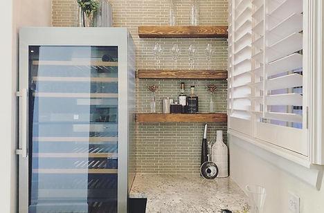 Modern Rustic Bar Remodel Design, MTK De