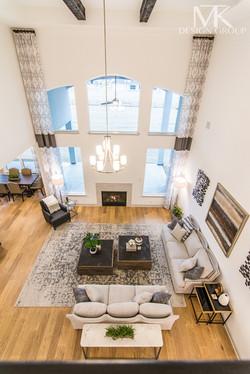 Mckinney Modern Rustic Living Room Design, MTK Design Group, DFW Interior Decorator (26 of 33)
