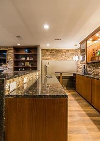 Dallas Mid Century Modern Lounge Design,