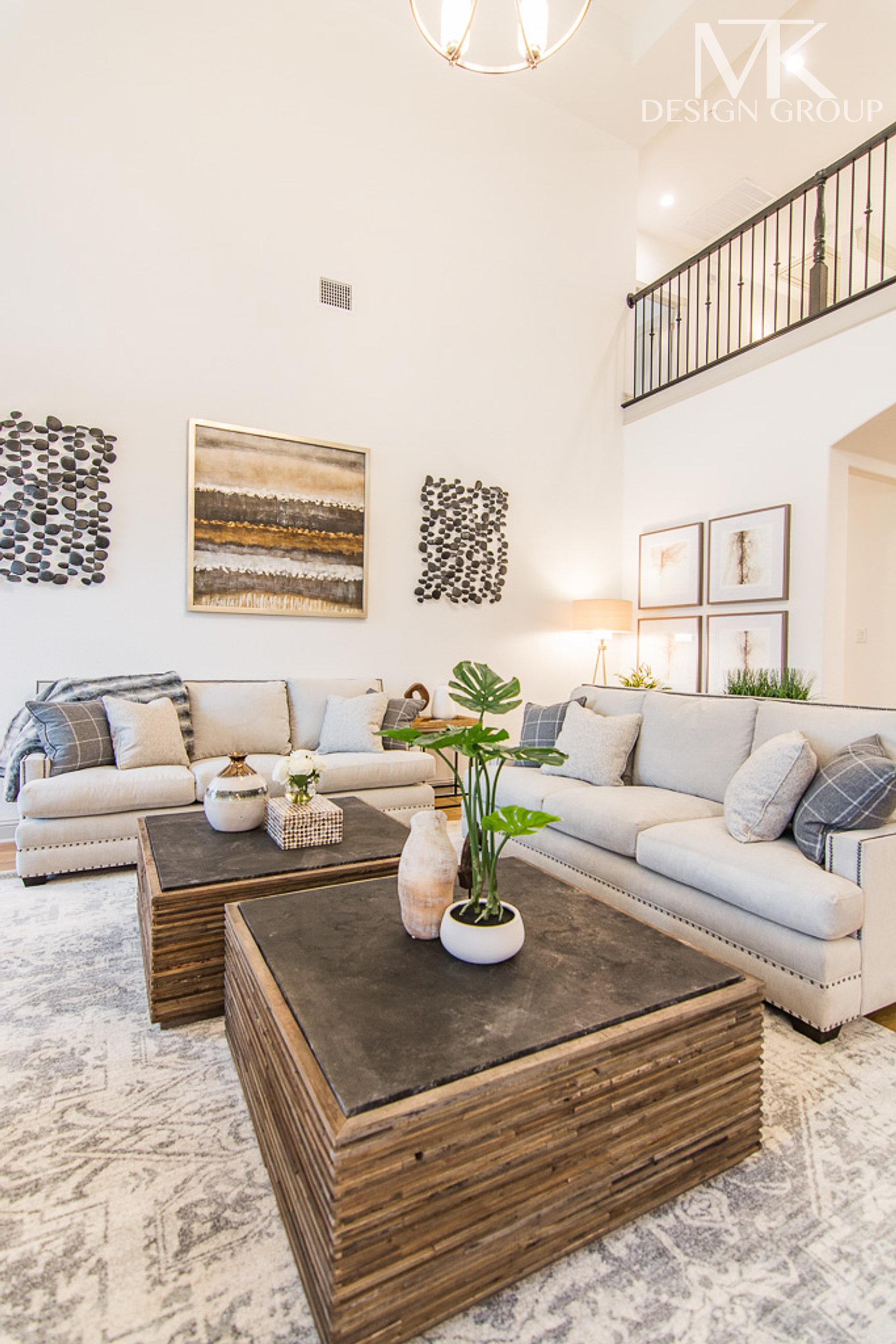 ... Mckinney Modern Rustic Living Room Design, MTK Design Group, DFW  Interior Decorator (17 ...