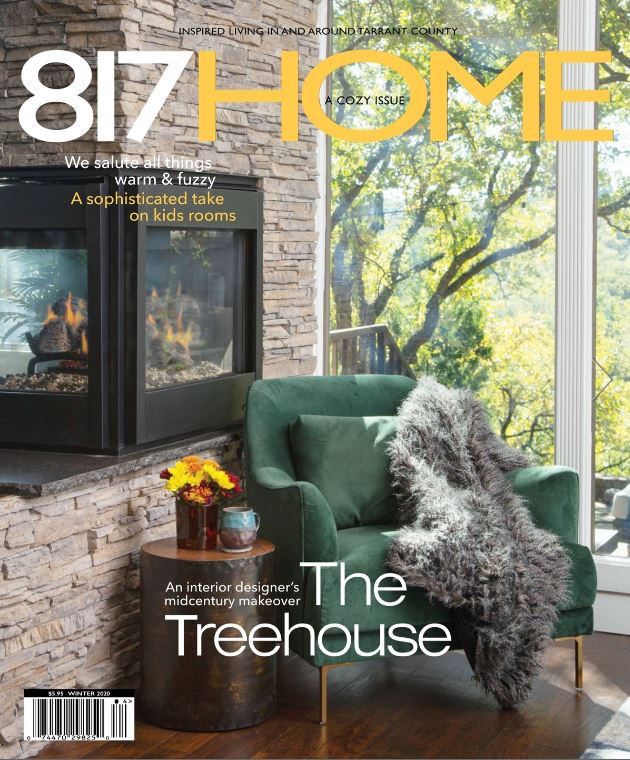 MTK's Front Cover Feature in 817 HOME Magazine