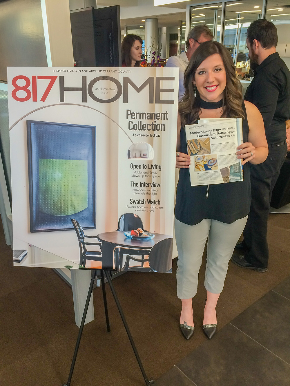 MTK Design Group attends launch party where company is published, DFW Interior Decorating Services