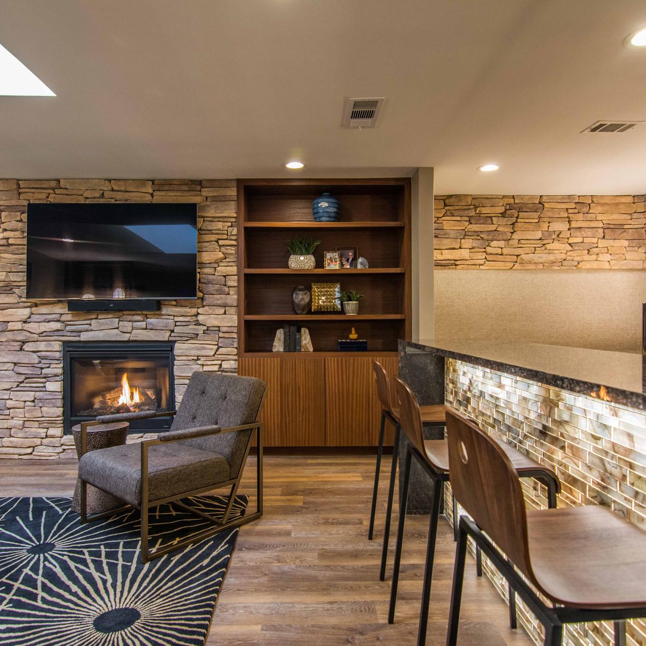 Dallas Mid Century Modern Lounge Design, MTK Design Group (7 of 39)