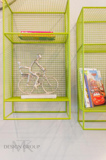 Modern Colorful Playroom Design, MTK Design Group