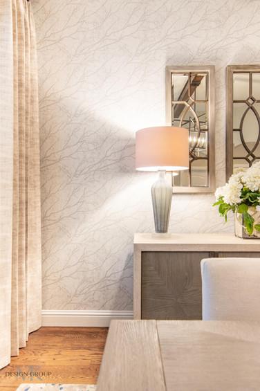 Modern Rustic Dining Room Design, MTK Design Group